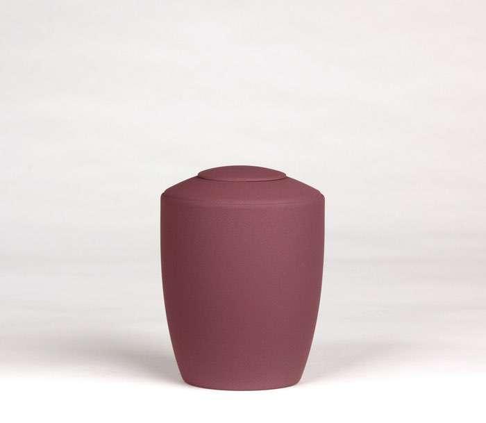 07 Urne Farbe rotlila • Deckel wahlweise in Urnenfarbe, goldener oder silberner Farbe 0,5 l - 50,00 €, 1,0 l - 60,00 €, 1,5 l - 70,00€, 2,0 l - 80,00€, 2,5 l - 90,00€ (inkl. MwSt.)