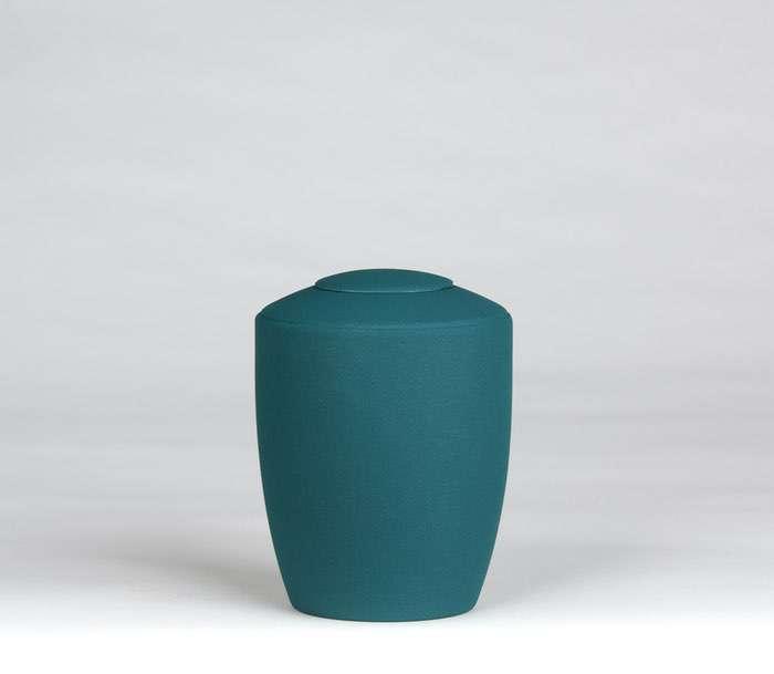 11 Urne Farbe blaugruen • Deckel wahlweise in Urnenfarbe, goldener oder silberner Farbe 0,5 l - 50,00 €, 1,0 l - 60,00 €, 1,5 l - 70,00€, 2,0 l - 80,00€, 2,5 l - 90,00€ (inkl. MwSt.)