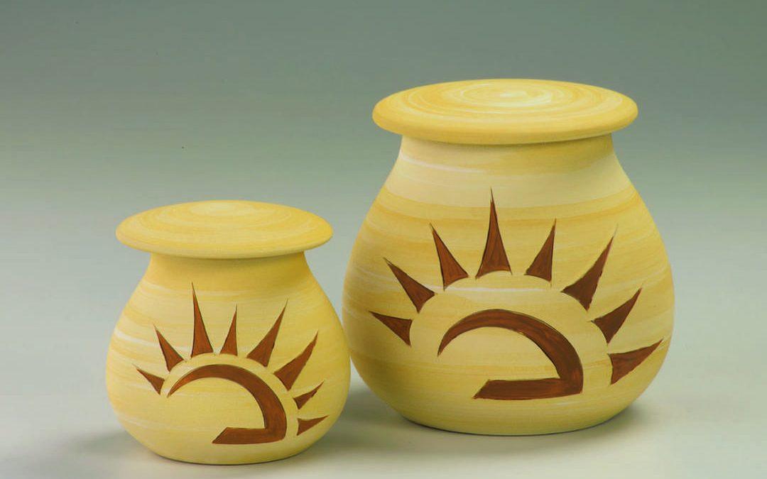 Urnen aus Keramik