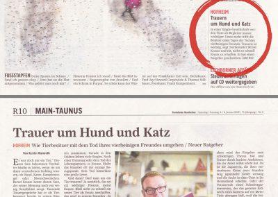 Frankfurter Rundschau 03./04. Januar 2015