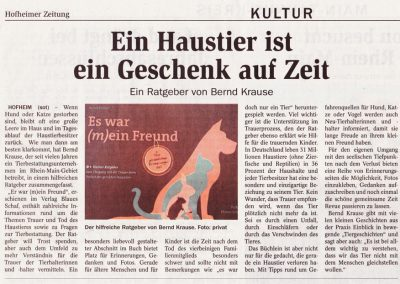 Hofheimer Zeitung 02. September 2014